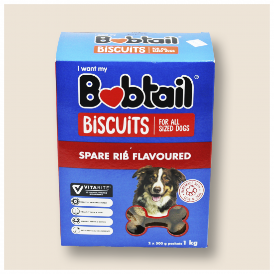 BOBTAIL BISCUITS FOR ALL SIZED DOGS