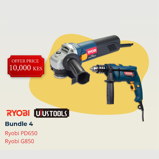 RYOBI-Bundle 4(Power Tools)-BRYUY-4 - Bosch | Karcher | Hardware Tools in Nairobi  | Pet Foods in Nairobi | Garden Tools in Nairobi | DIY Tools in Nairobi Kenya | Power Tools in Nairobi | Mombasa | Kenya