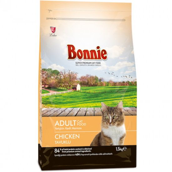 BONNIE-BONNIE ADULT CAT FOOD CHICKEN - 1.5 Kg(Cat Food)-8698995012287 - Bosch | Karcher | Hardware Tools in Nairobi  | Pet Foods in Nairobi | Garden Tools in Nairobi | DIY Tools in Nairobi Kenya | Power Tools in Nairobi | Mombasa | Kenya