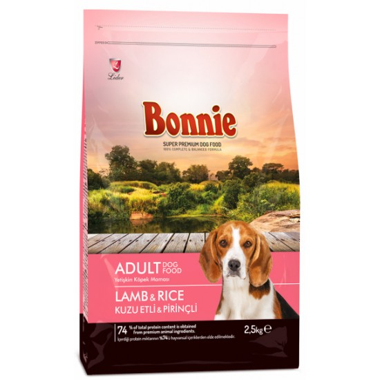 BONNIE-BONNIE ADULT DOG FOOD LAMB AND RICE - 2.5 Kg(Dog Food)-8698995012140 - Bosch | Karcher | Hardware Tools in Nairobi  | Pet Foods in Nairobi | Garden Tools in Nairobi | DIY Tools in Nairobi Kenya | Power Tools in Nairobi | Mombasa | Kenya