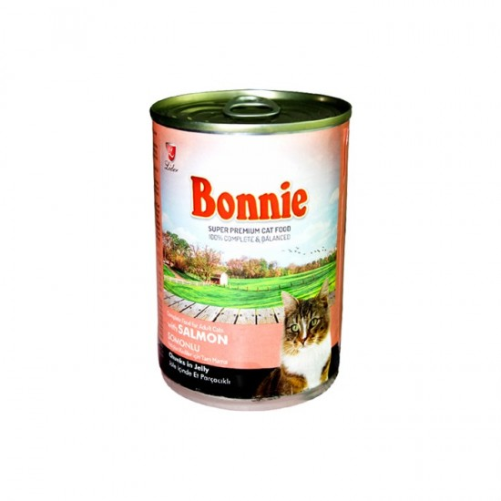 BONNIE-BONNIE CANNED CAT FOOD WITH SALMON - CHUNKS IN JELLY - 400 Gr(Cat Food)-8698995013536 - Bosch | Karcher | Hardware Tools in Nairobi  | Pet Foods in Nairobi | Garden Tools in Nairobi | DIY Tools in Nairobi Kenya | Power Tools in Nairobi | Mombasa |