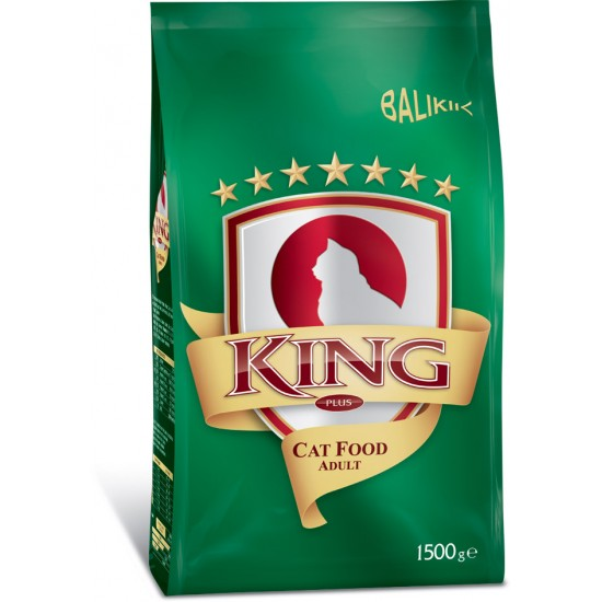 KING-KING PLUS ADULT CAT FOOD FISH - 1.5 Kg(Cat Food)-8698995011532 - Bosch | Karcher | Hardware Tools in Nairobi  | Pet Foods in Nairobi | Garden Tools in Nairobi | DIY Tools in Nairobi Kenya | Power Tools in Nairobi | Mombasa | Kenya