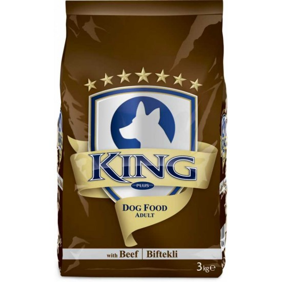KING-KING PLUS ADULT DOG FOOD BEEF - 3 Kg(Dog Food)-8698995011297 - Bosch | Karcher | Hardware Tools in Nairobi  | Pet Foods in Nairobi | Garden Tools in Nairobi | DIY Tools in Nairobi Kenya | Power Tools in Nairobi | Mombasa | Kenya