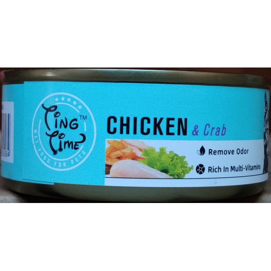TING TIME-TING TIME CAT CAN CHICKEN & CRAB 95G(Cat Food)-6927749853084 - Bosch | Karcher | Hardware Tools in Nairobi  | Pet Foods in Nairobi | Garden Tools in Nairobi | DIY Tools in Nairobi Kenya | Power Tools in Nairobi | Mombasa | Kenya